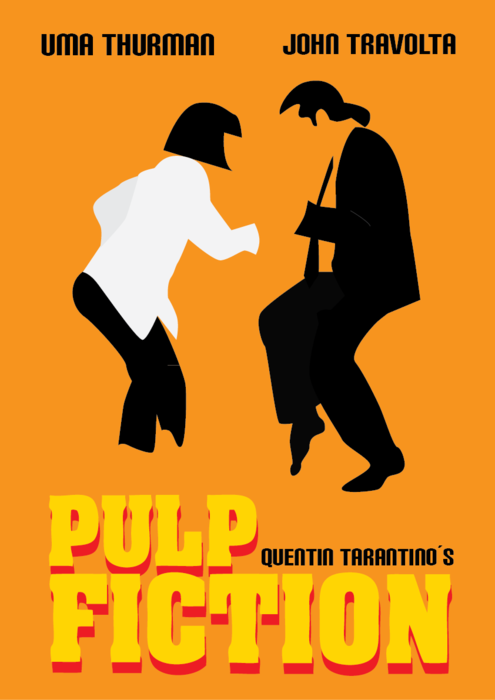 Pulp Fiction By Ana Balderramas Movieposters Posters Minimalmovieposters Posterdesign Pulpfiction 90smovies 1994 1994movies Tarantinomoviesminimal