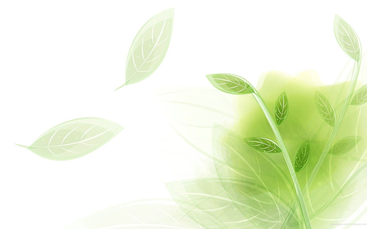 Light And Elegant Leaves Powerpoint Backgrounds Free Powerpoint Templates And Google Slides The Green Wallpaper Cool Wallpapers For Phones Cool Background Pics