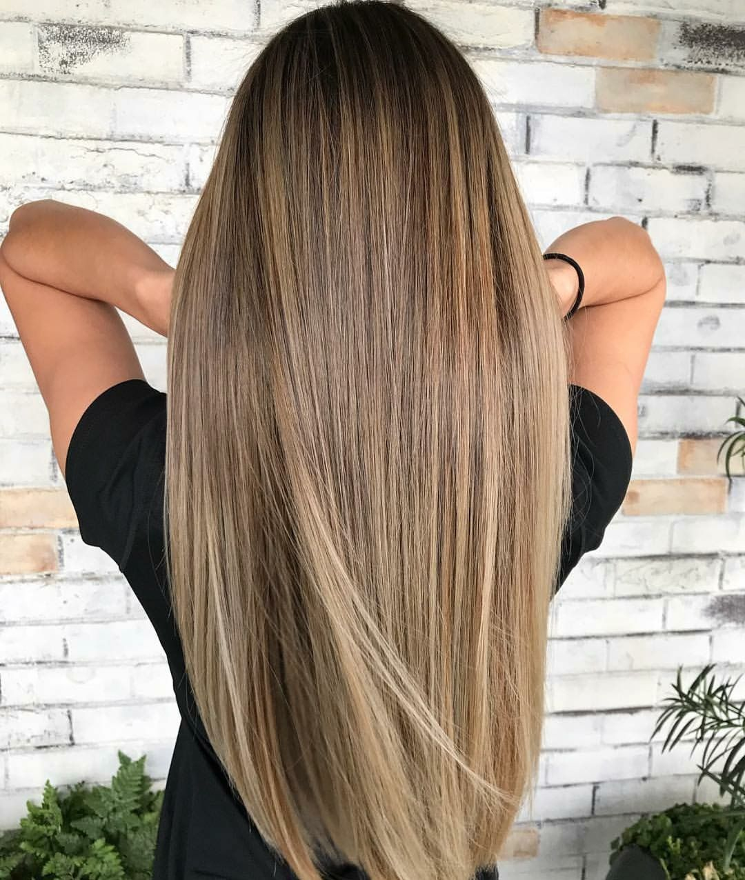 Ready Balayage Straight Hair Highlights Brown Hair Balayage Brown Hair Balayage