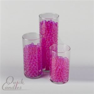 Eastland Pink Water Pearls Vase Fillers Single Pack Vase Fillers Pearl Centerpiece Candle Centerpieces