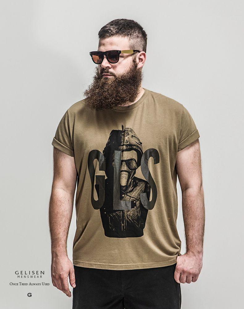 f41866897 R$ 317.48  GELISEN Mens Luxury Clothing Top Brand Summer Style Plus Size  Mens T Shirts Fashion 2015, Color(Pickle), Size(xl 6xl) em Camisetas de  Roupas ...
