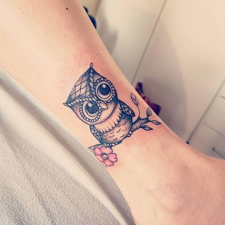 40++ Best Barn owl tattoo small image HD