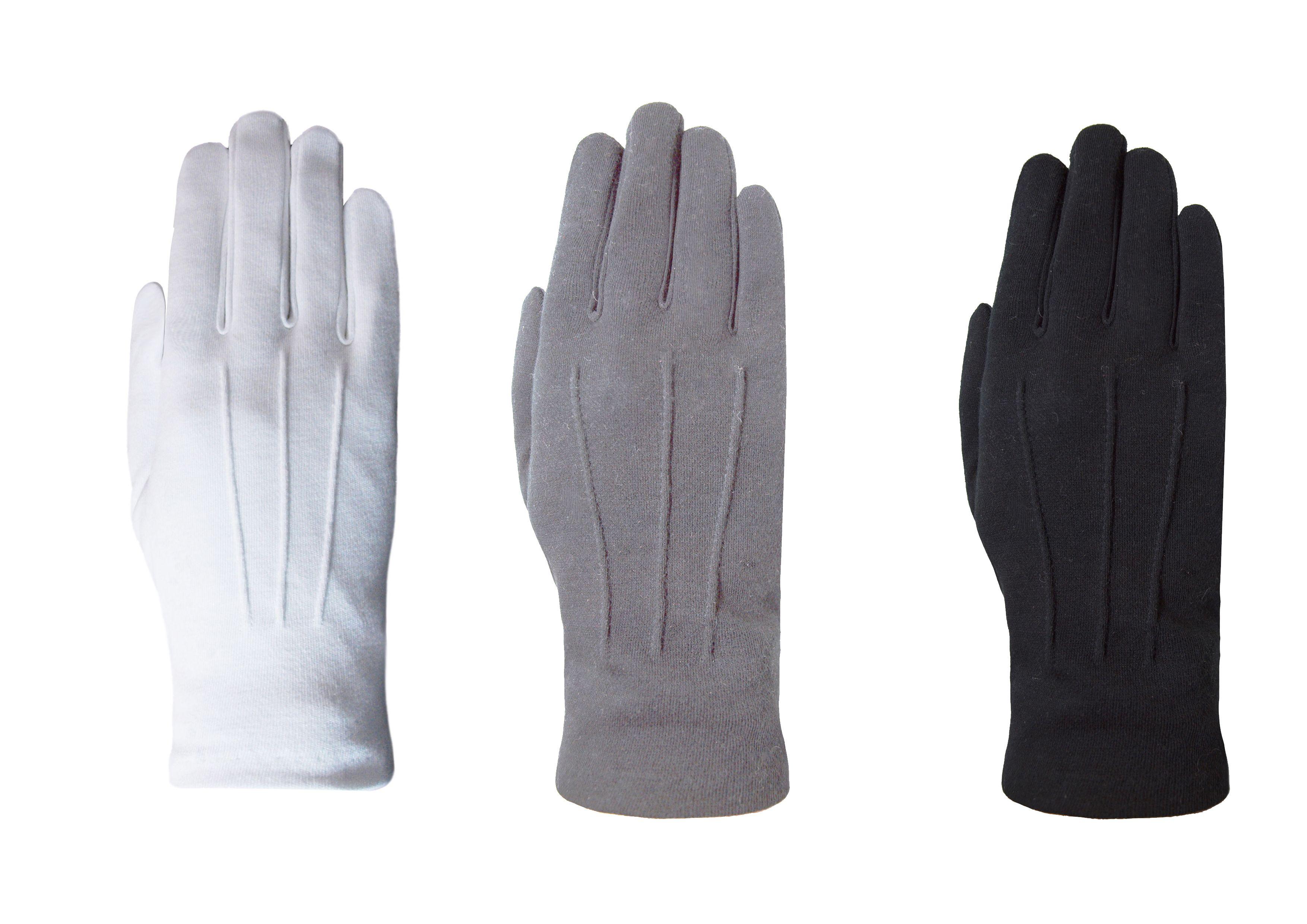 Gala handschoenen van het merk Laimböck. Mogelijk te dragen bij rokkostuum of jacquet