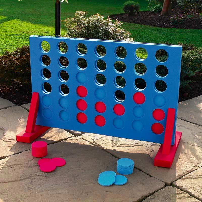 Garden Games 4 In A Row Giant Garden Game On Sale Fast Delivery