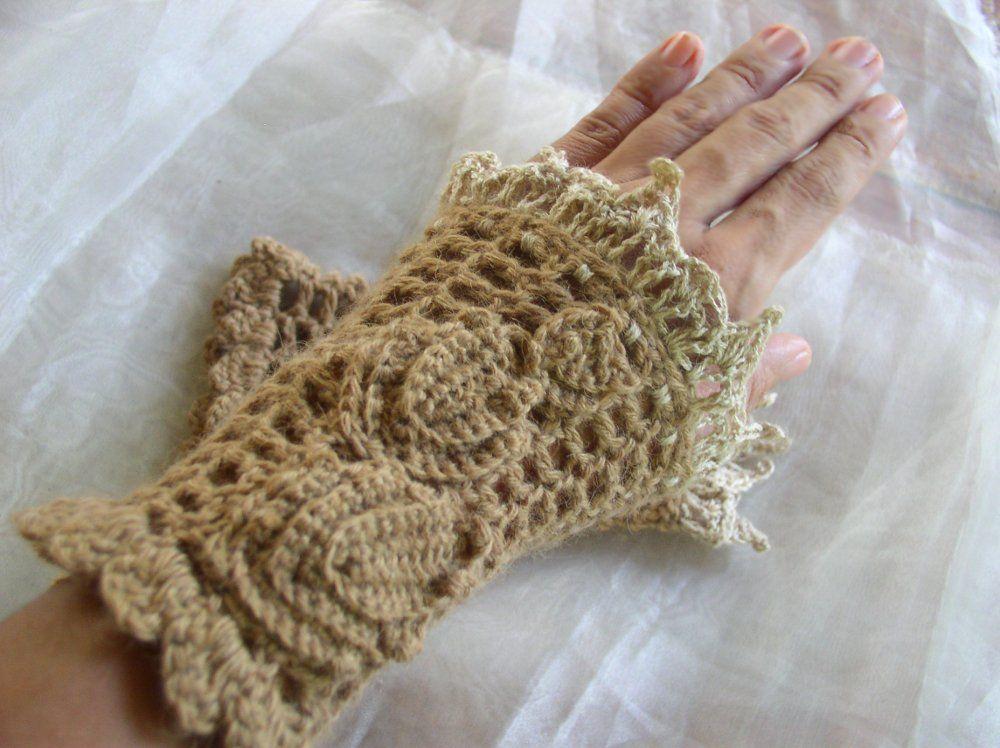 by Fatima | Fingerless gloves crochet pattern, Crochet ...