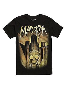 New Zim! // Invader Zim Issue 1 Ghost Variant T-Shirt