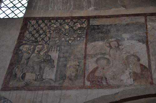 South Newington- Wall painting The Passion 225