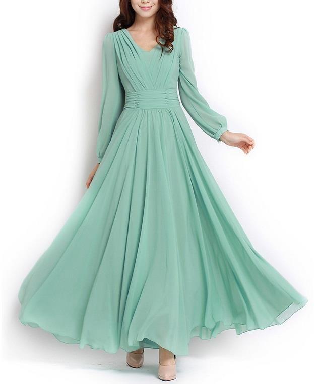 Long dress muslimah floral
