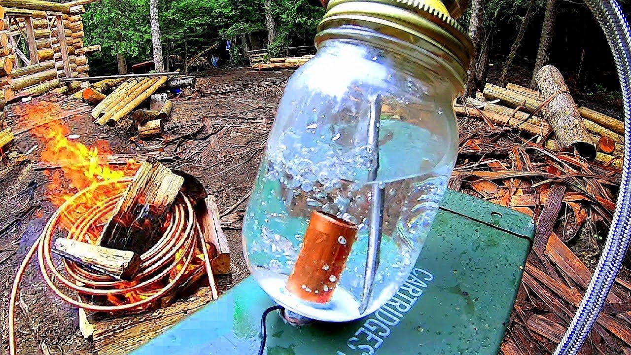 Off Grid Heating Copper Coil Water Heater Heat Exchanger Radiant He Radiant Heaters Water Heater Heat Exchanger