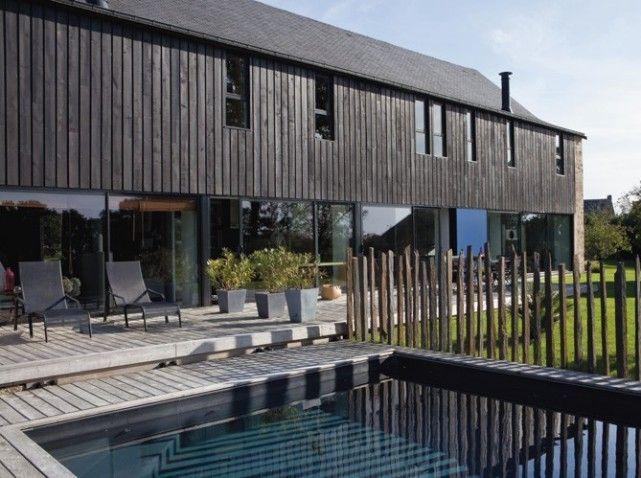 quand une grange devient une belle maison contemporaine maisons barn pinterest. Black Bedroom Furniture Sets. Home Design Ideas
