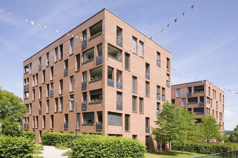 Wohnuberbauung Ruggachern Zurich Baumschlager Eberle Architekten Uberbauung Architekt Baum