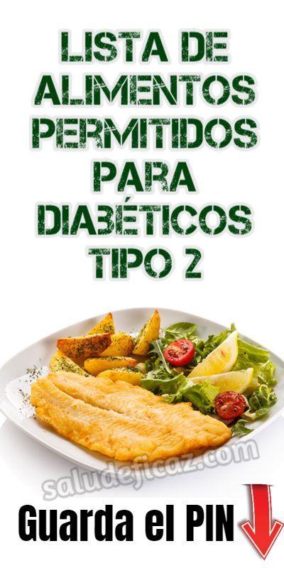 dietoterapia en diabetes tipo