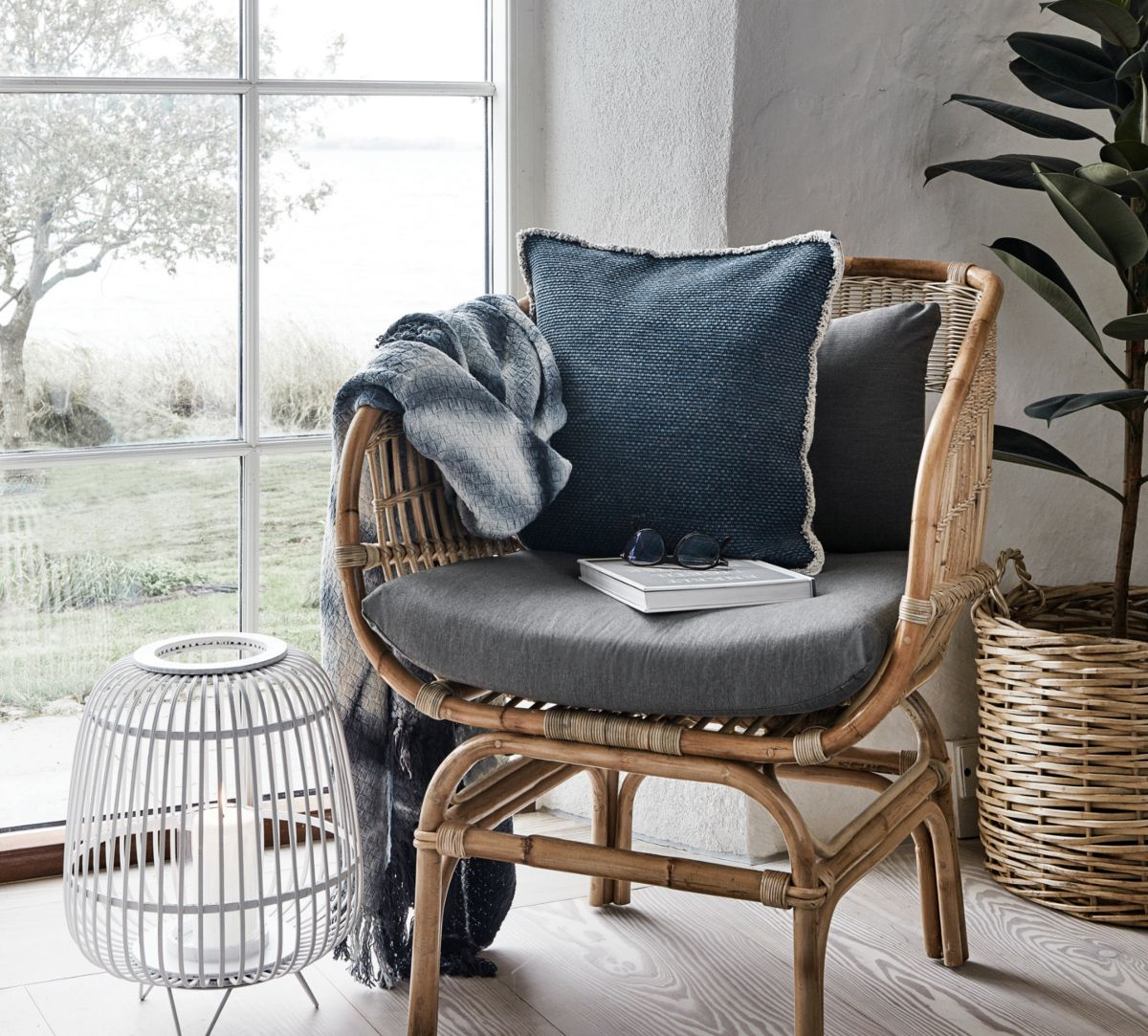 sitzkissen rattanstuhl 2x rattansessel inkl sitzkissen relaxsessel korbsessel sessel. Black Bedroom Furniture Sets. Home Design Ideas