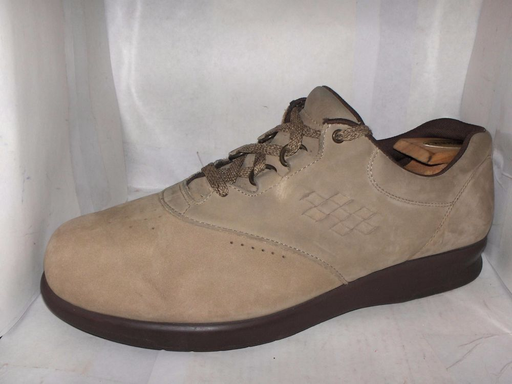 Clothing, Shoes & Accessories Sas Free Time Women's Leather Comfort Shoes Size 8 M Beige Cheap Sales