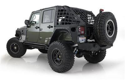Smittybilt Part S B581035 Jeep Jk Wrangler 4 Door Cargo Restraint System Cres Rh3 120 Jeep Wrangler Jk