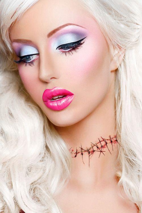 Apply slut makeup