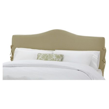 Slipcover Style Headboard With Ribbon Accents And Pine Wood Frame Handmade In The Usa Product Headboard C Headboard Styles Headboard Bedroom Headboard