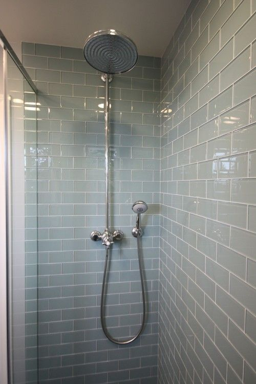 smoke glass subway tile | tile design, bathroom tiling and wraps