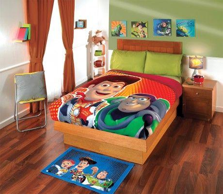 Colcha #Edredon #Niños #ToyStory #Hogar #Recamara #Ideas