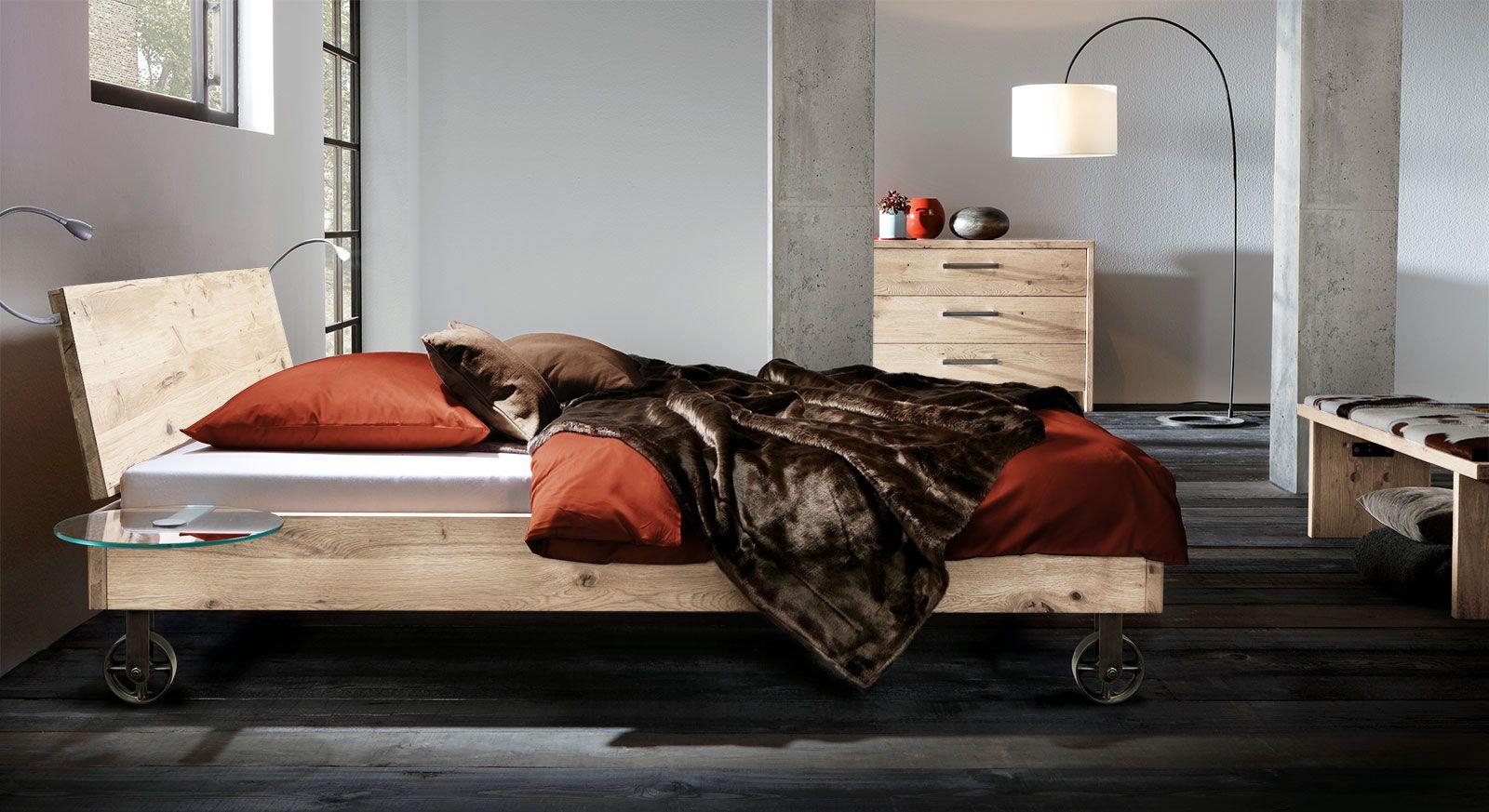 Bett Santo Bett Massivholzbett Bett 140x220