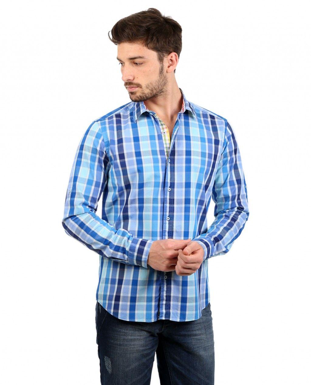 8792d9ab2232e Toss Erkek Gömlek - Mavi #mensfashion #shirt #gomlek #karaca  #ciftgeyikkaraca #toss www.karaca.com.tr www.toss.com.tr