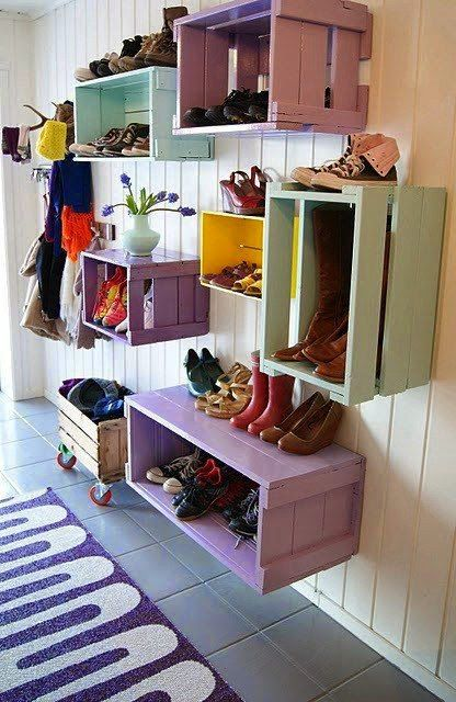 Home garden 50 id es pour ranger ses chaussures for Idee pour ranger les chaussures
