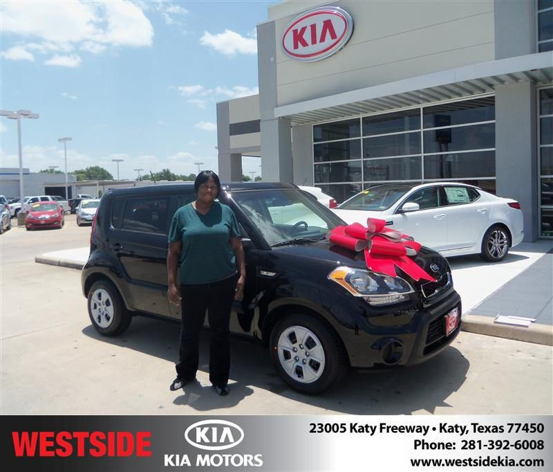#HappyBirthday to Washita Mccoy from Everyone at Westside Kia!