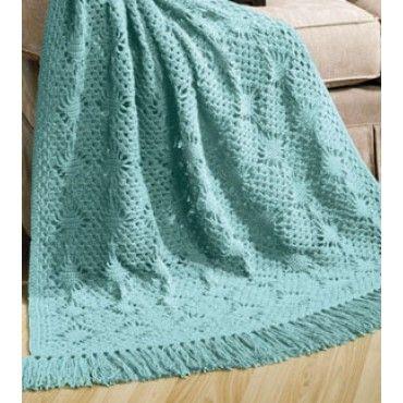 Free Lacy Diamonds Afghan Pattern Afghans Blankets Pinterest