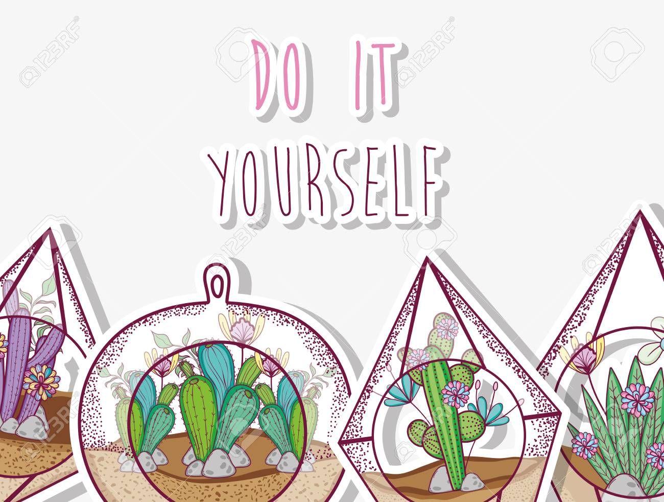 Do It Yourself Gardening Concept Affiliate Gardening