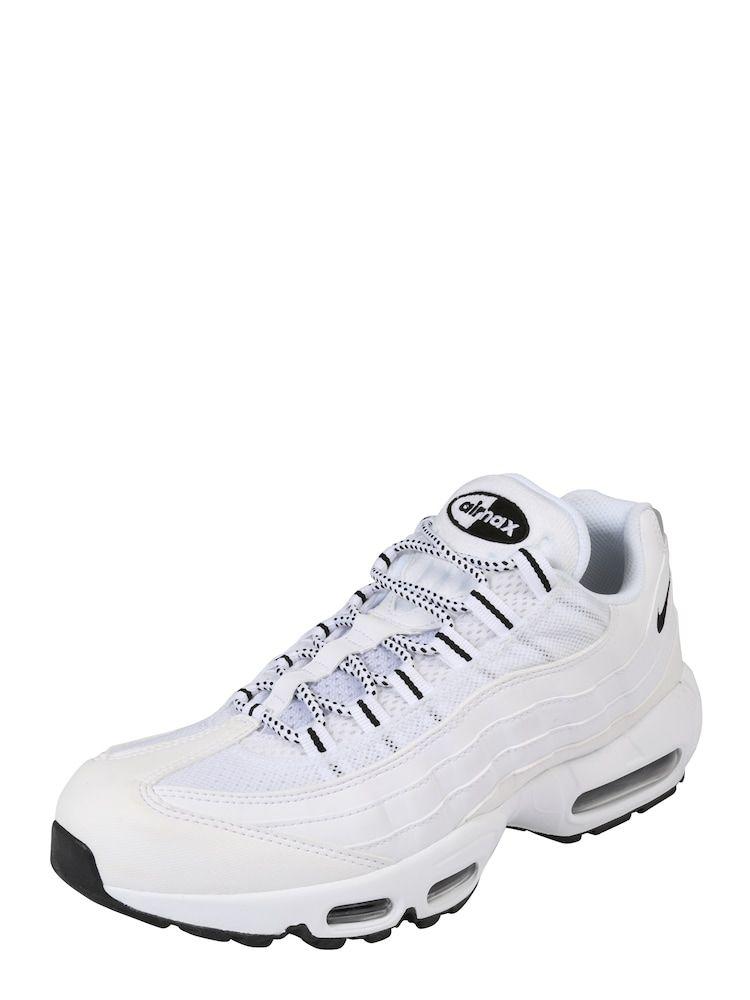Nike Sportswear Sneaker Low Air Max 95 Herren Schwarz Weiss Grosse 42 5 Air Max 95 Nike Sportswear Und Nike