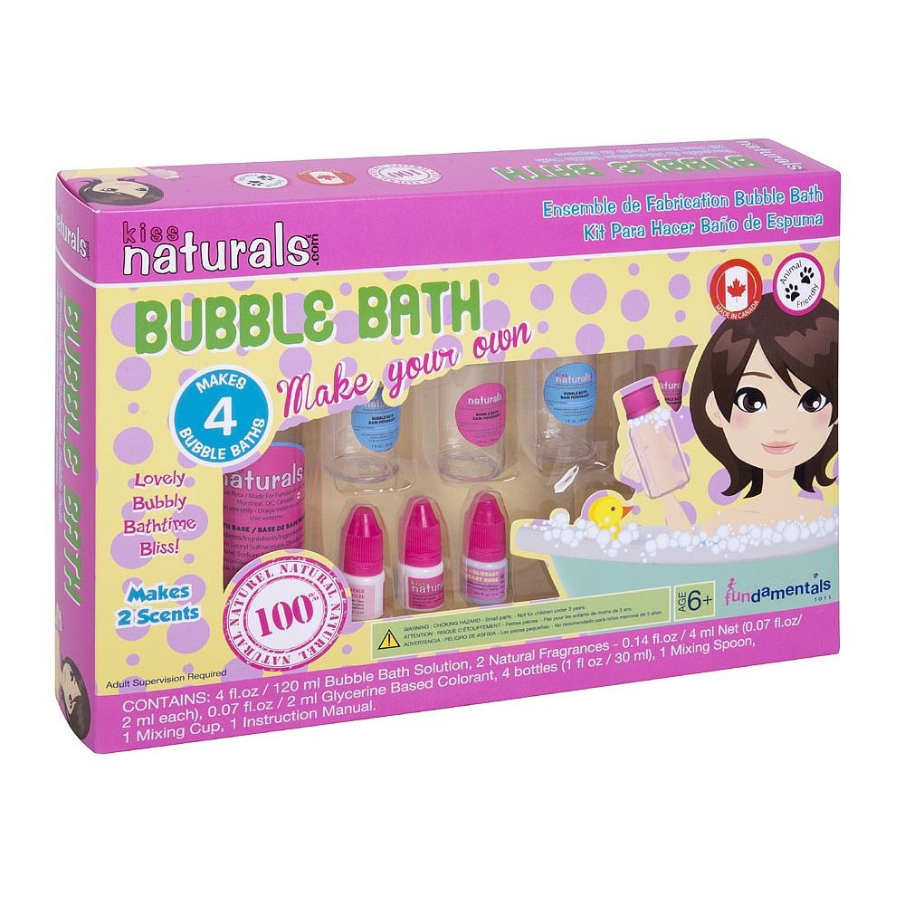 Kiss Naturals DIY Bubble Bath Kit - FUNDAMENTALS TOYS - Toys\