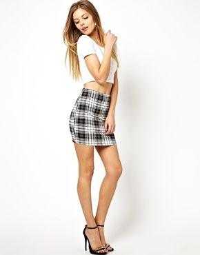 Checked Mini Skirts | Jill Dress