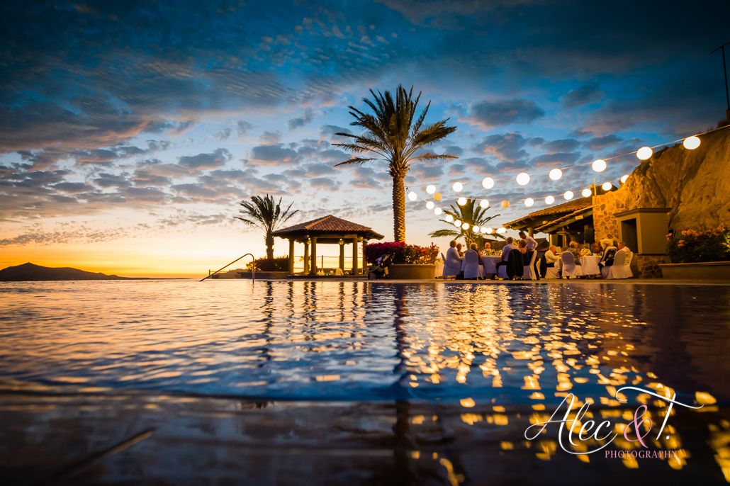Wedding At Pueblo Bonito Sunset Beach Sky Pool