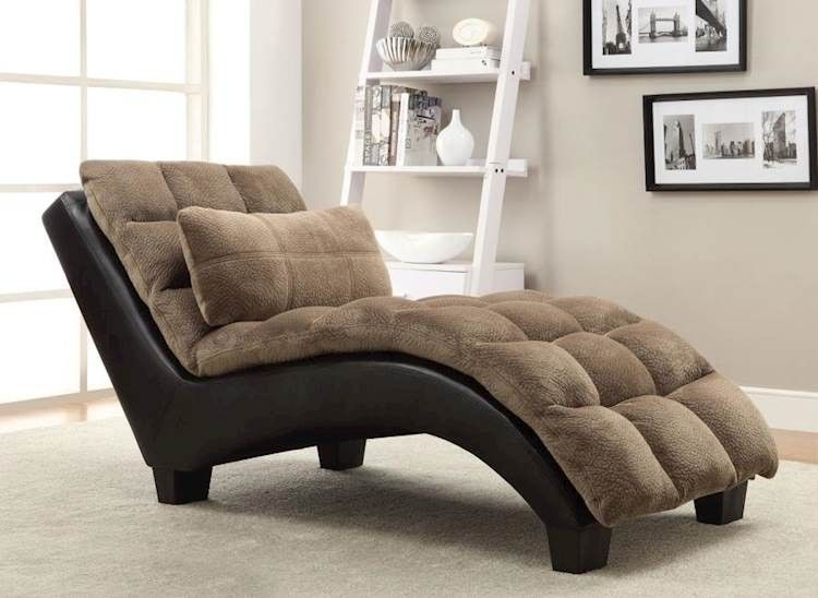 Brown Chaise In 2020 Upholstered Chaise Furniture Brown Chaise Lounge
