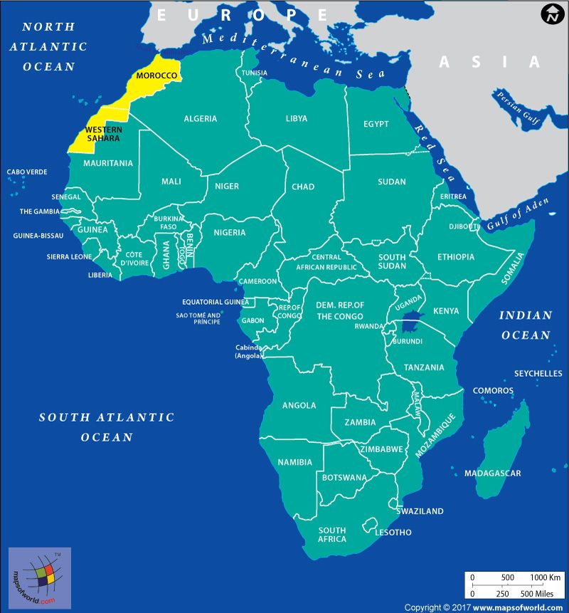 Is Western Sahara a Sovereign State or Part of Morocco Western