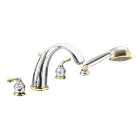 Moen Bathtub Shower Faucets T956cp Roman Tub Faucets Faucet