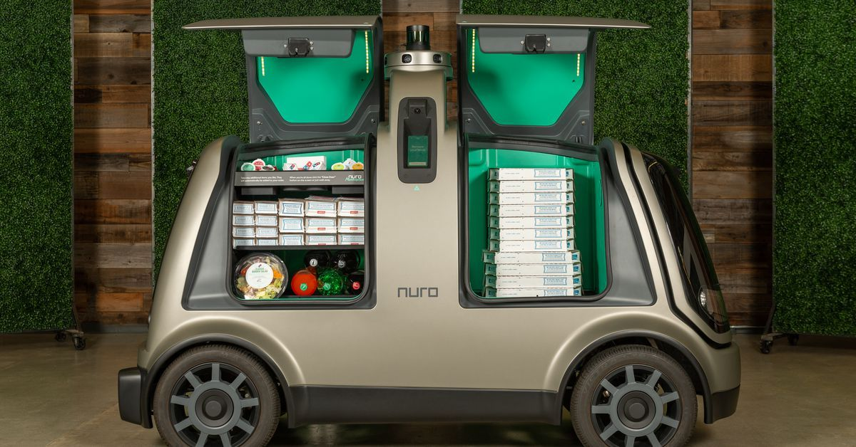 Driverless cars will soon deliver pizza in houston pizza