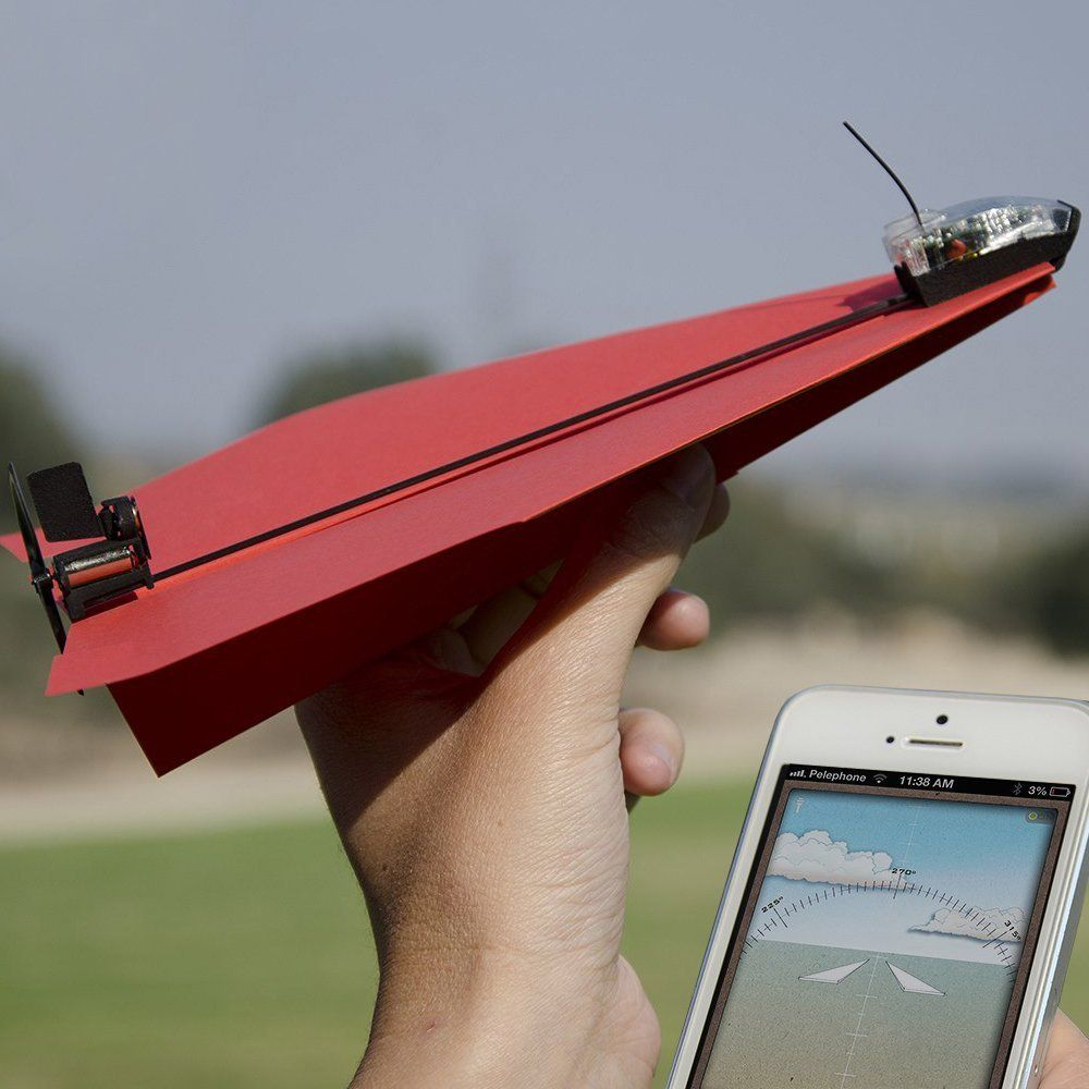 Fancy - Smartphone Controlled Paper Airplane