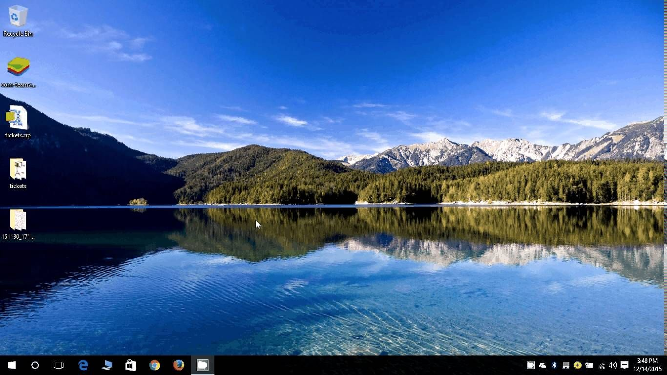 How to Create a desktop background slide show in Windows