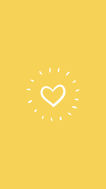 e96ef8cdf63c Yellow heart Instagram Highlight #Instagram #highlights #story ...