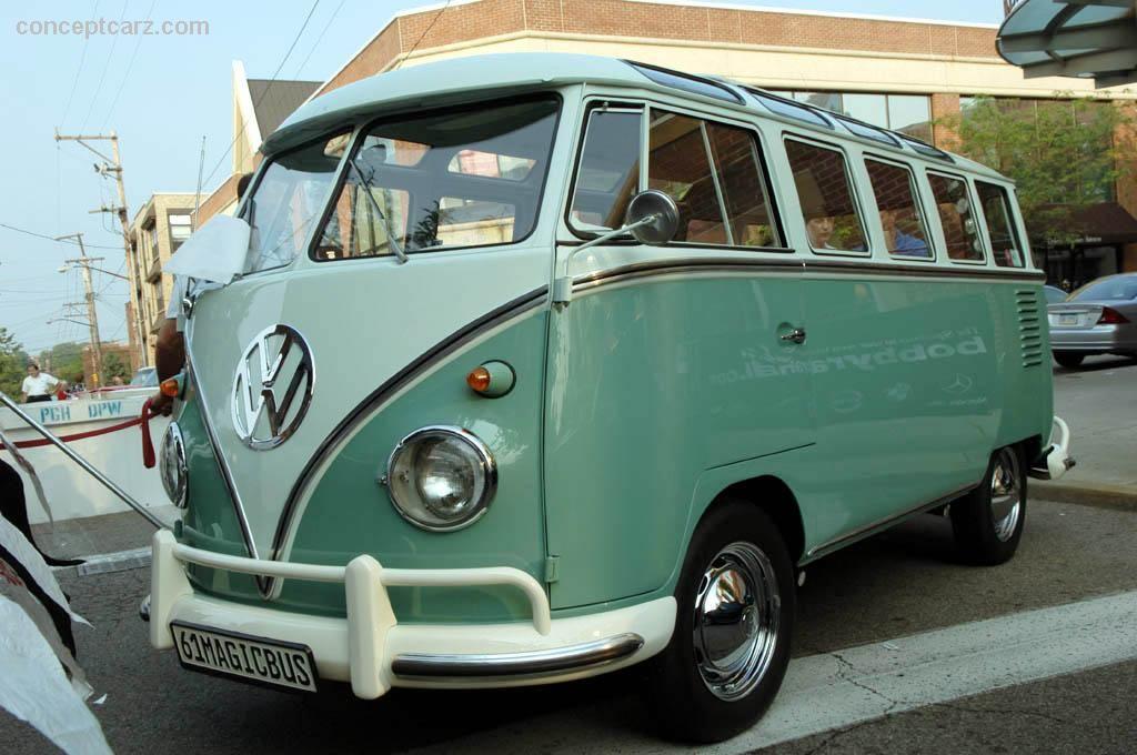 1961 vw microbus...