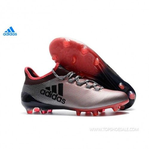 3dab27479dc 2018 FIFA World Cup adidas X 17.1 FG DB1400 Grey   Core Black   Real Coral Football  shoes