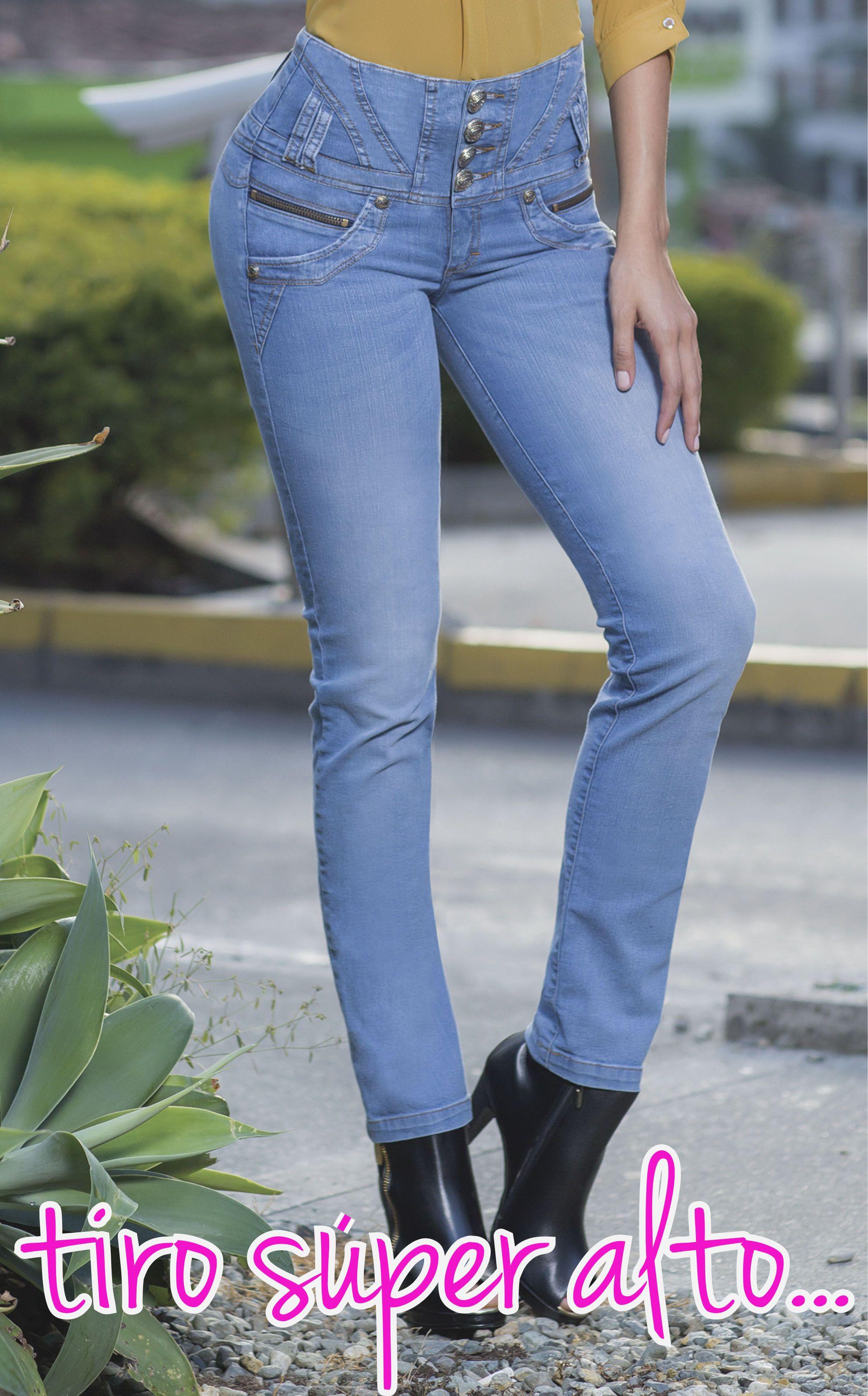 74376dafac3 jeansTyT Creados para estilizar y dar forma a tu silueta. jeans levanta  cola