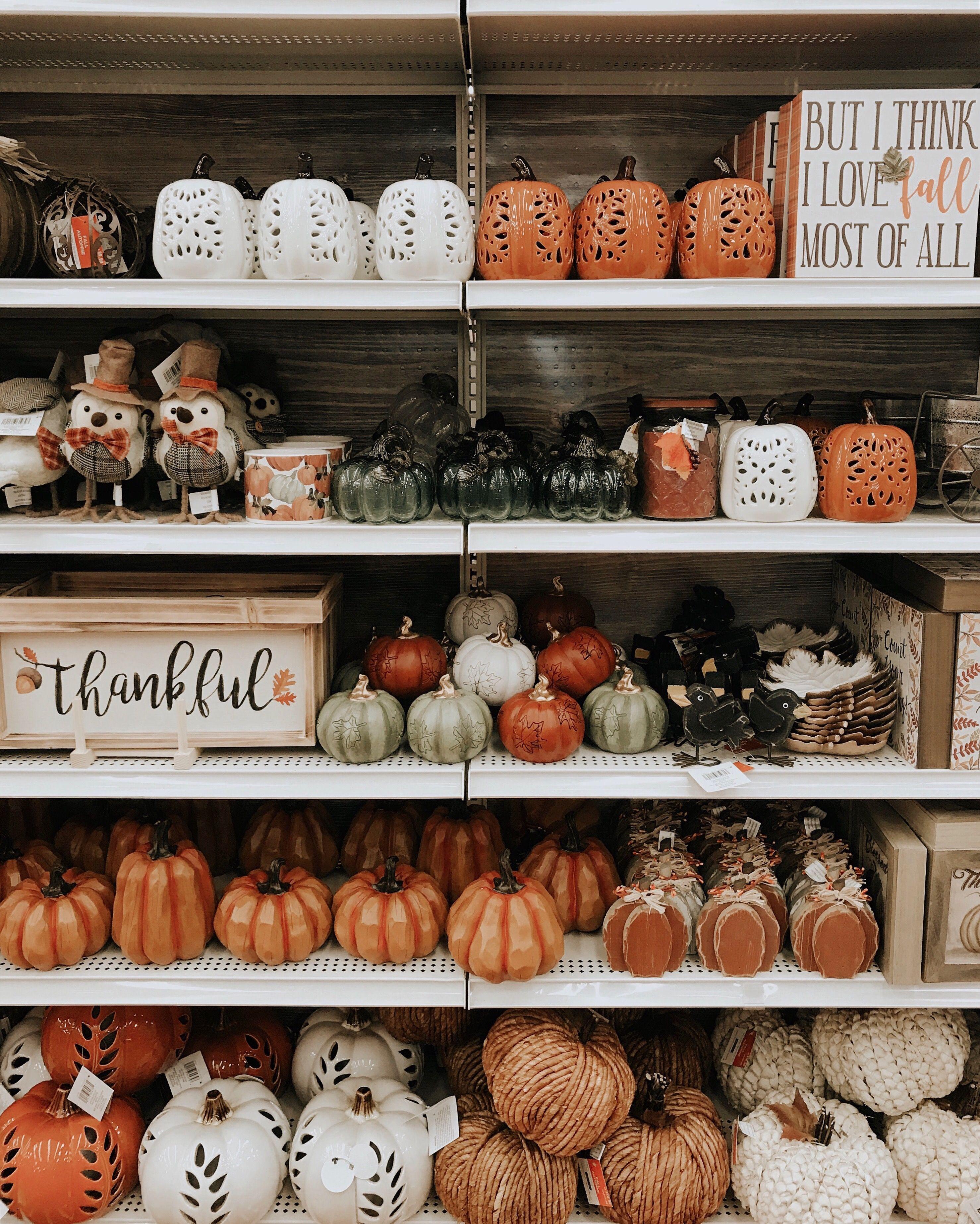 Fall 2018 Michaels Store Fall Decor Pumpkins Home Decor