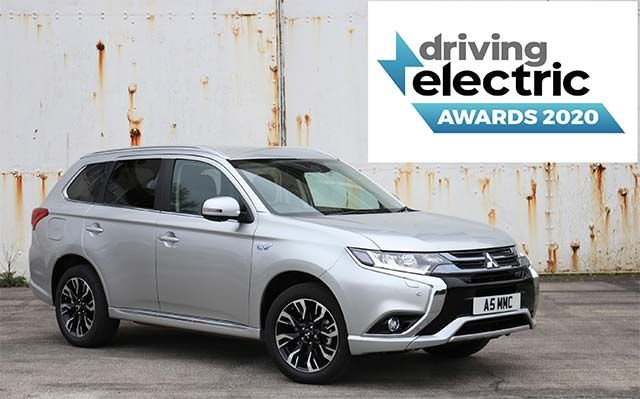 Mitsubishi Outlander PHEV named Best Used Plug-In Hybrid for 2020 by DrivingElectric