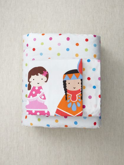 Super cute, happy dots Toddler Bedding 3-Piece Set by Kukunest on Gilt.com