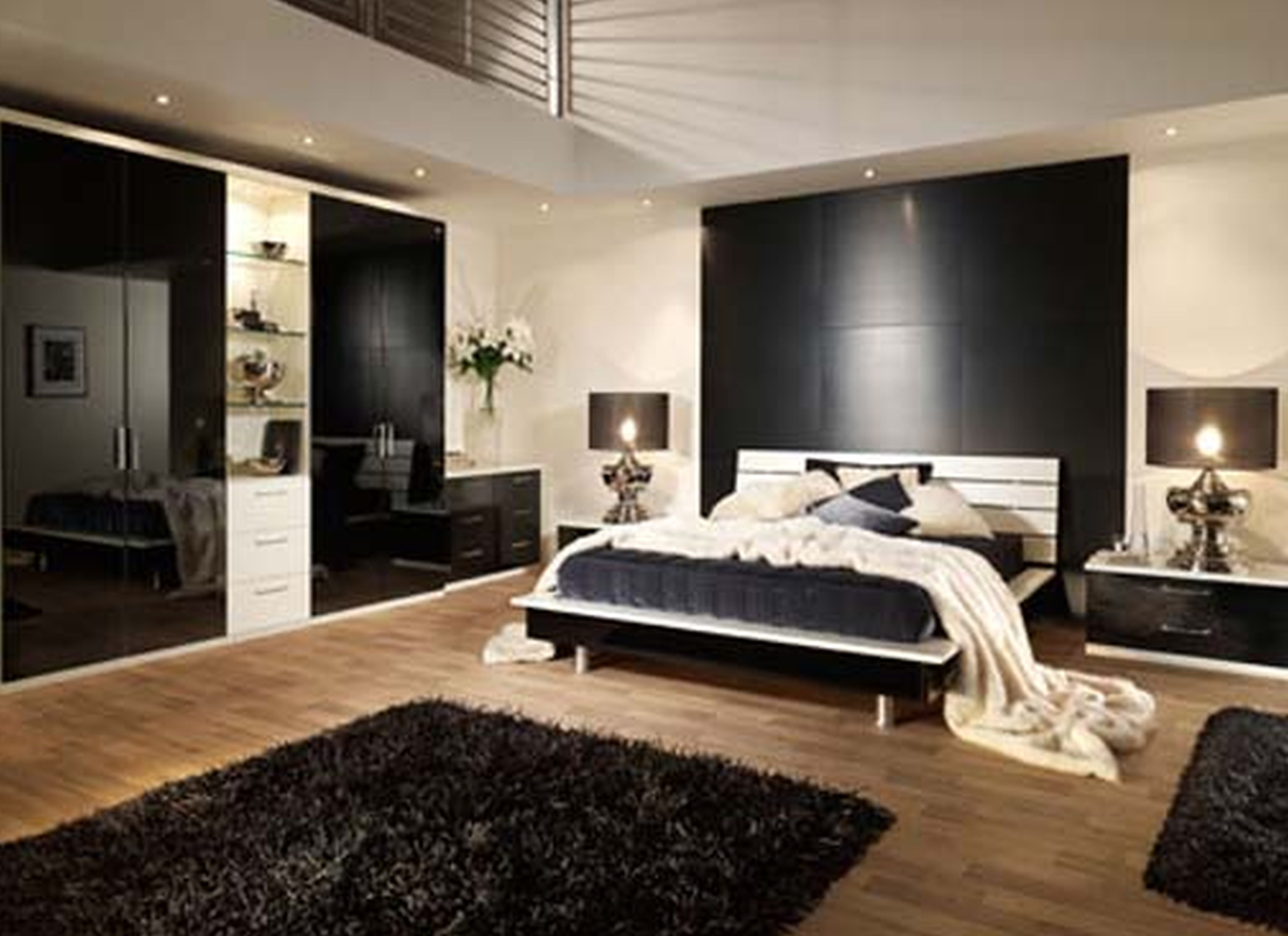 Inspiring bedroom design ideas for men decorate a bedroom for Minimalist master bedroom ideas