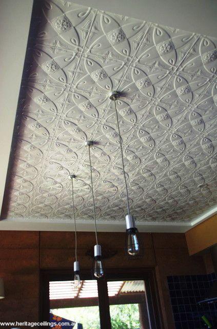 Pressed Metal Panels Recessed Into Ceiling Metal Panel Ceiling