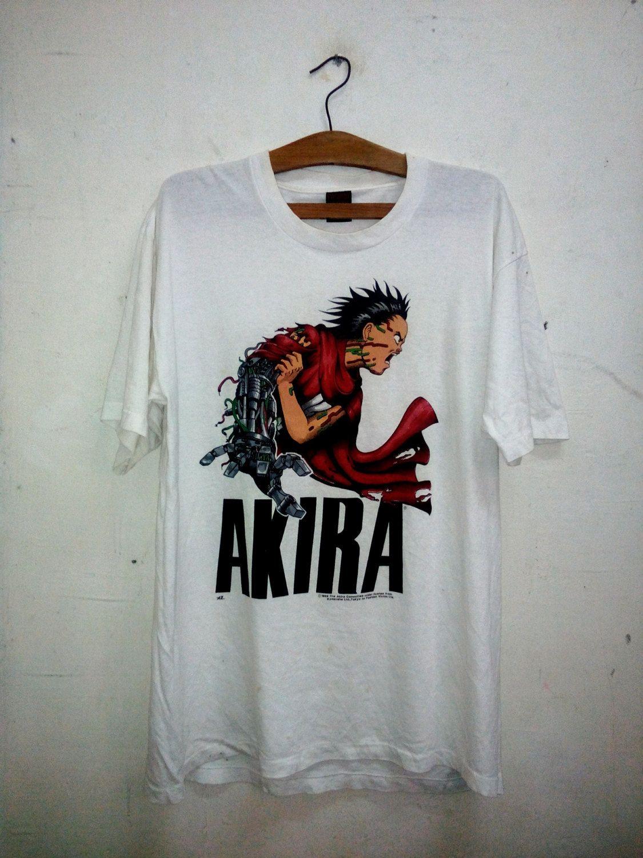 35f273eba368 Vintage 80s - 1988 Akira Tetsuo by Katsuhiro Otomo Japanese animated  science fiction film Tshirt By Fashion Victim Sz XL by Psychovault on Etsy