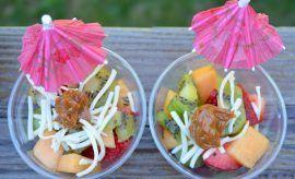 Photo of Ensalada de frutas con dulce de leche receta La fruta del mang